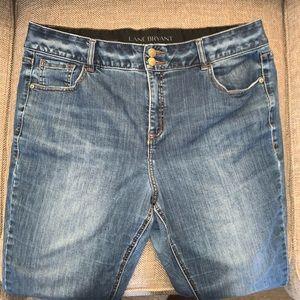 EUC Lane Bryant High Rise Boot Jeans Size 20 S.